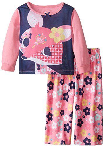 c571e83b7 Candlesticks Baby Girls 2 Piece Set Fox Flower Pink 18 Months ...