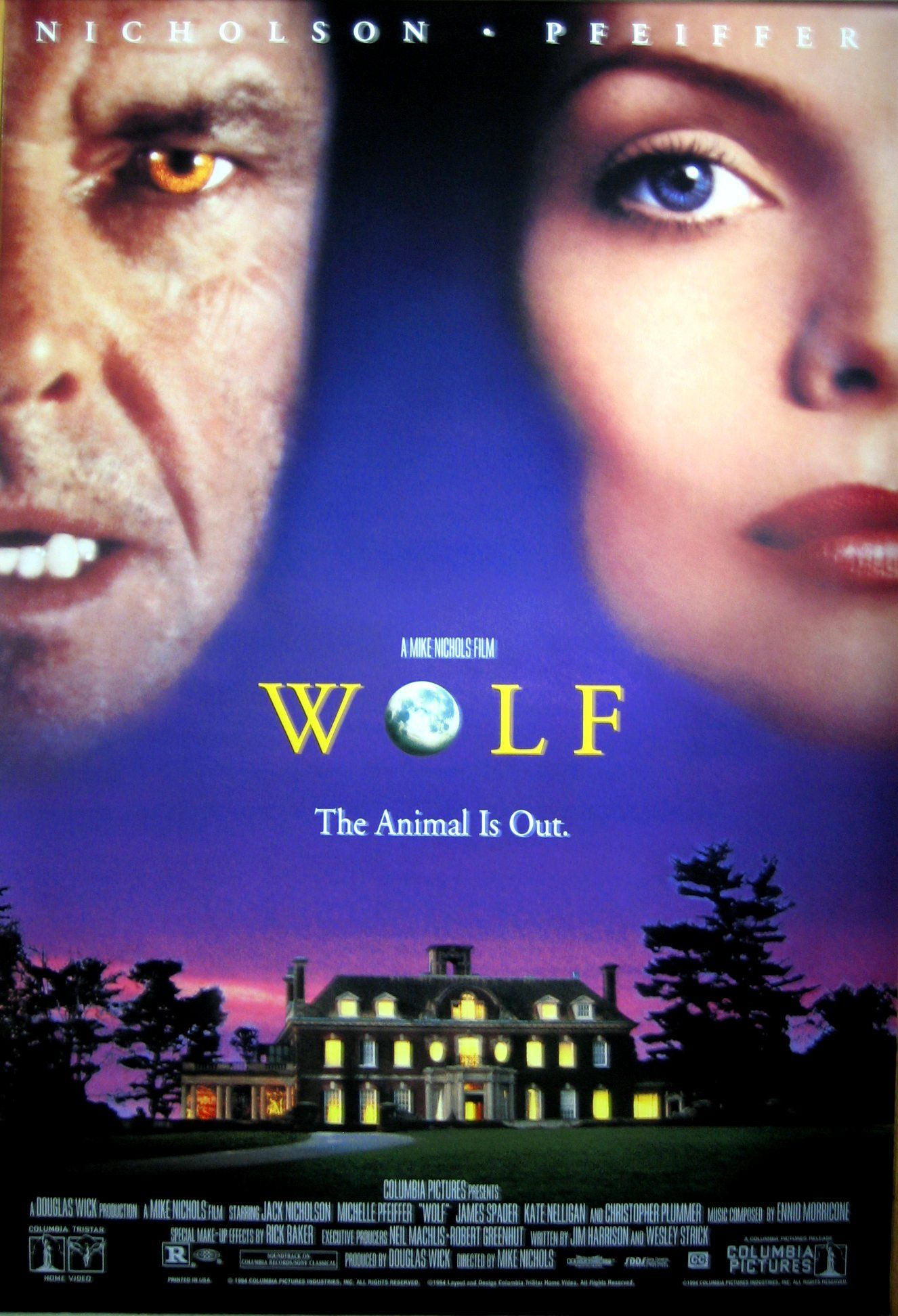 ICYMI: #Movie #Film #Wolf Remember This: Wolf (1994) #movie #throwback  #horror: Synopsis: Publisher Will Randall becomes a werewolf and has…