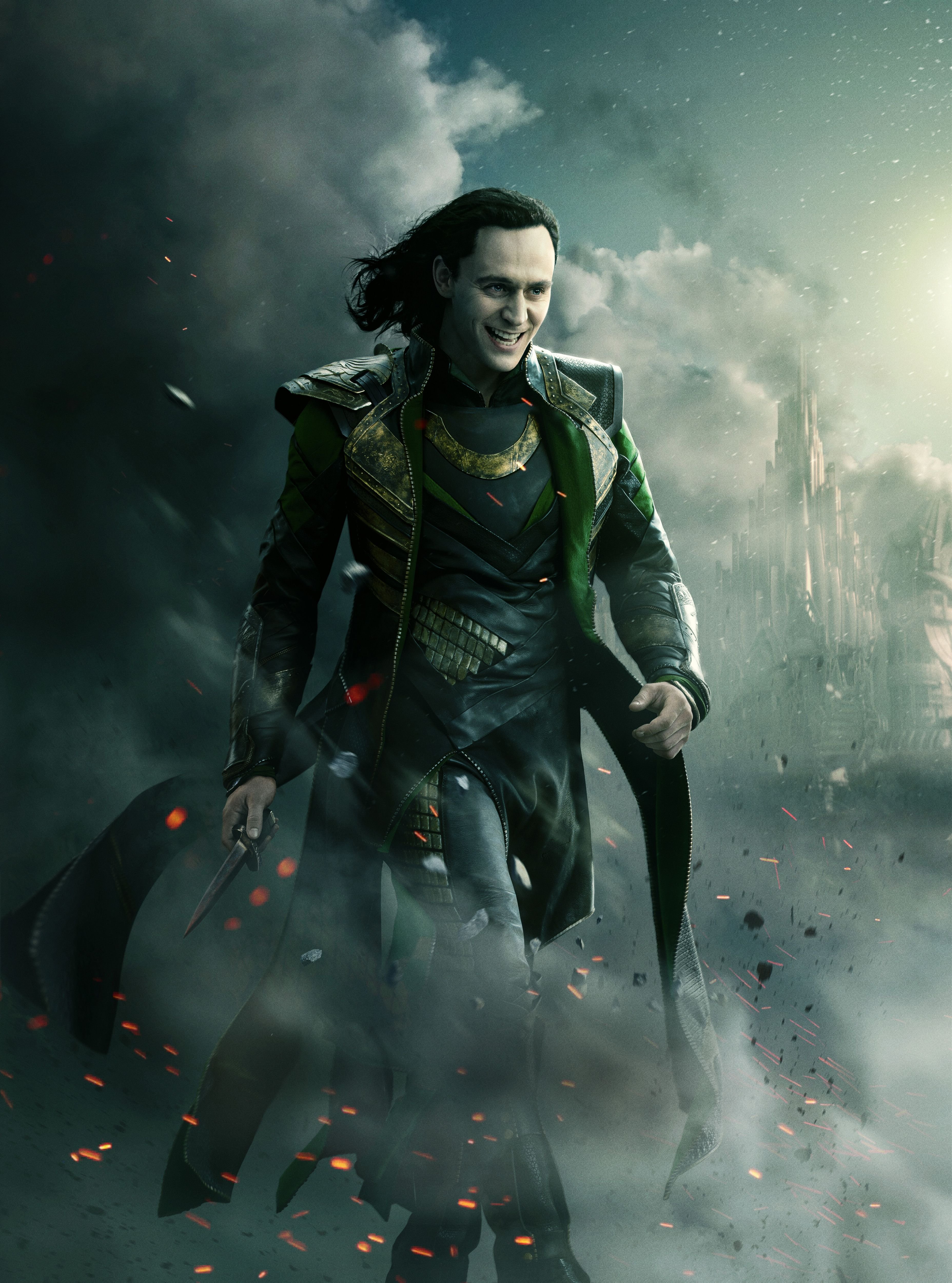 Poster of Tom Hiddleston, Alan Taylor's Thor: The Dark World (UHQ)