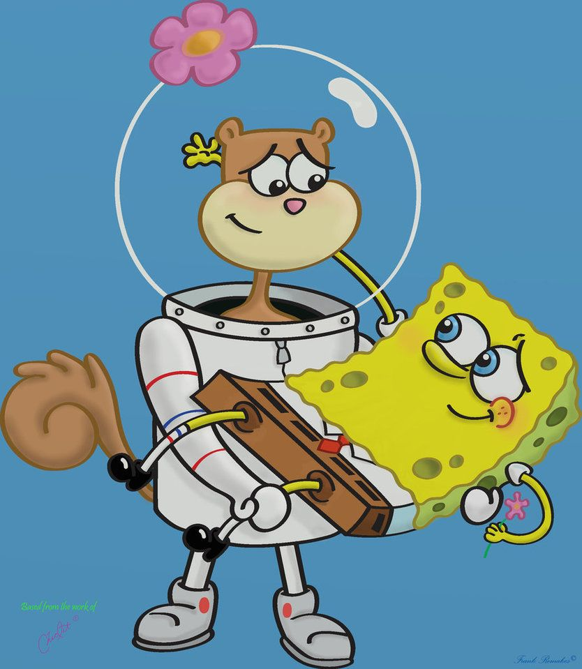 Gangster Sandy Cheeks Spongebob and Sandy by...