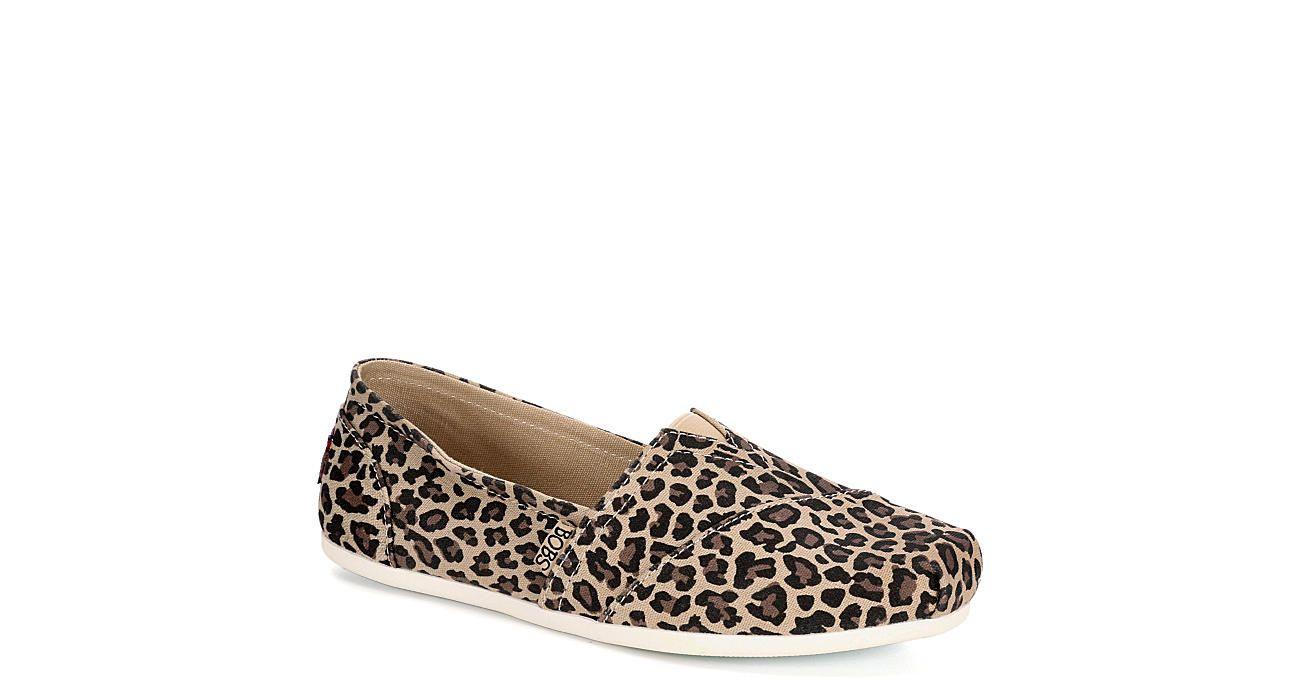 Leopard Skechers Bobs Womens Hot