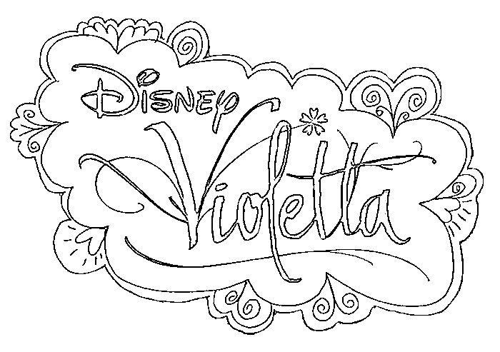 Foto Da Colorare Violetta.Disegno Da Colorare Violetta Coloring Pages Drawing Inspiration