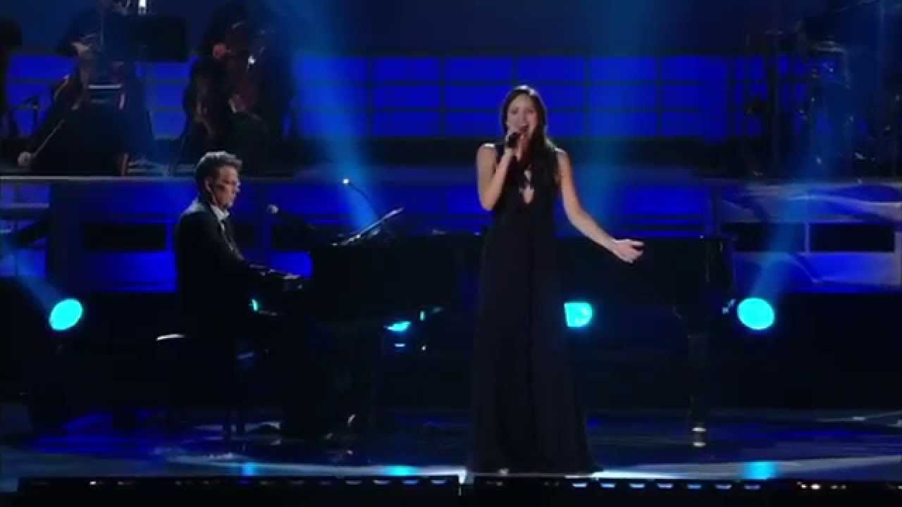Somewhere There S A Place For Us Katharine Mcphee Con David Foster Youtube In 2020 Katharine Mcphee Leonard Bernstein American Idol