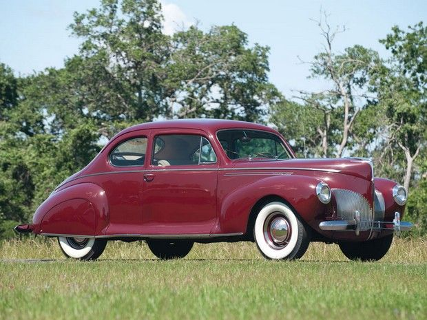 1940 Lincoln Zephyr Club Coupe Lincoln Continental 1937 1941