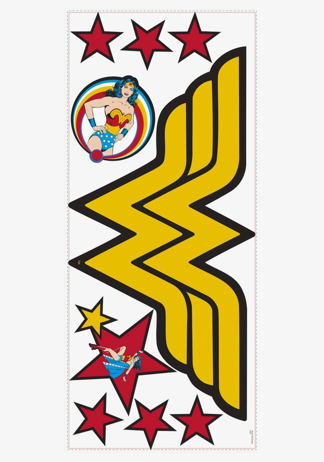 Símbolos de la Mujer Maravilla. Logo de la mujer