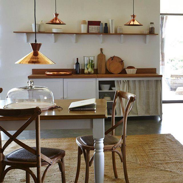 Meuble Cuisine Portes Niska AMPM Rangement Cuisine - La redoute table de cuisine pour idees de deco de cuisine