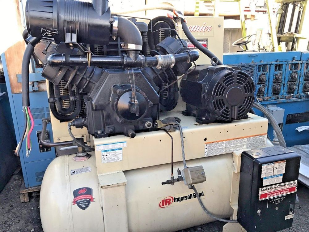 NGERSOLLRAND 25HP AIR COMPRESSOR/230460VOLTS/3 PHASE