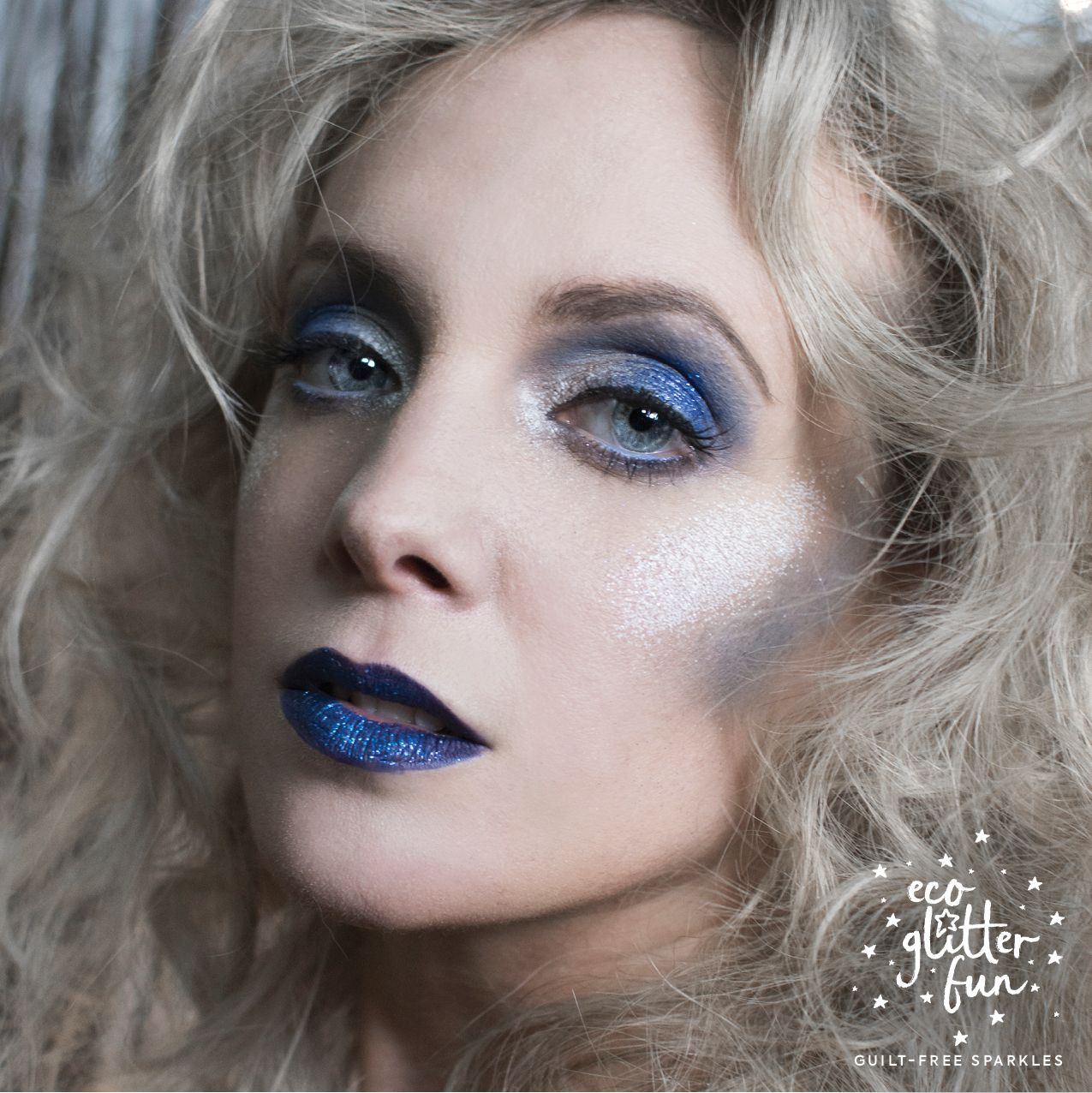 The White Witch or Ice Queen Halloween Makeup Look add
