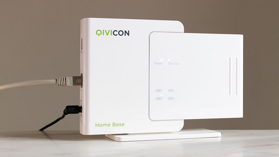 Die Qicvicon Home Base Steuert Alle Gerate Im Telekom Smart Home
