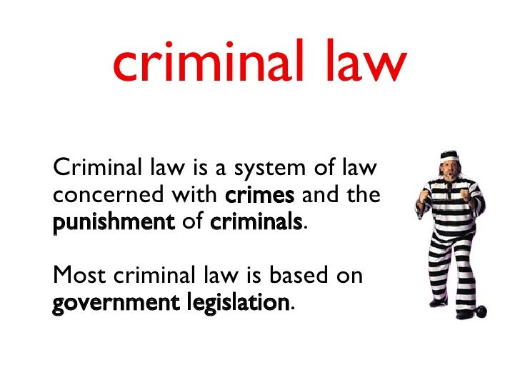 vocabulary for law with images to share