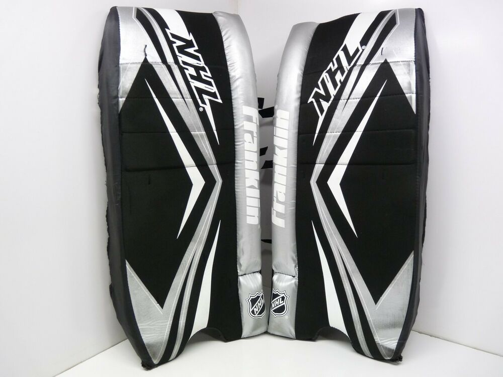 Advertisement Ebay Franklin Nhl Gp 120 Senior 26inch 66cm Goalie Pads Protection Good Condition Goalie Pads Street Hockey Goalie Mask