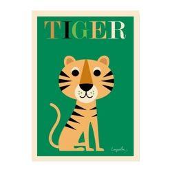 Tiger by Ingela Arrhenius