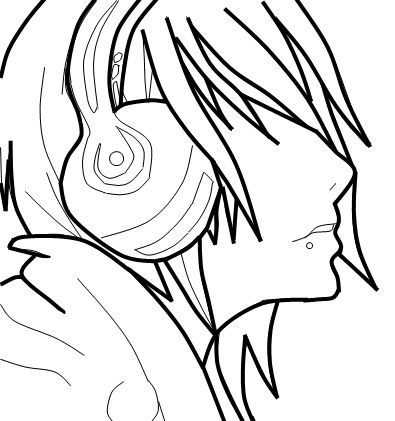 Emo Drawings Emo Art Drawings Coloring Pages