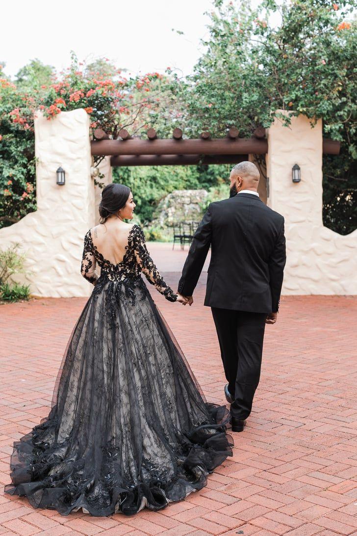 Halloween 2020 Nods This Couple's Romantic Halloween Inspired Wedding Shoot Has Subtle