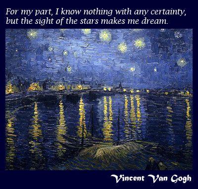 ***dreams*** #VincentVanGogh