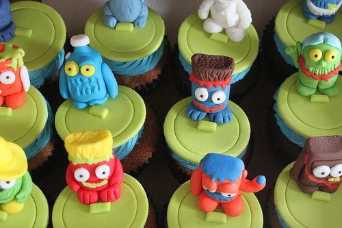 monstrinhos cupcakes