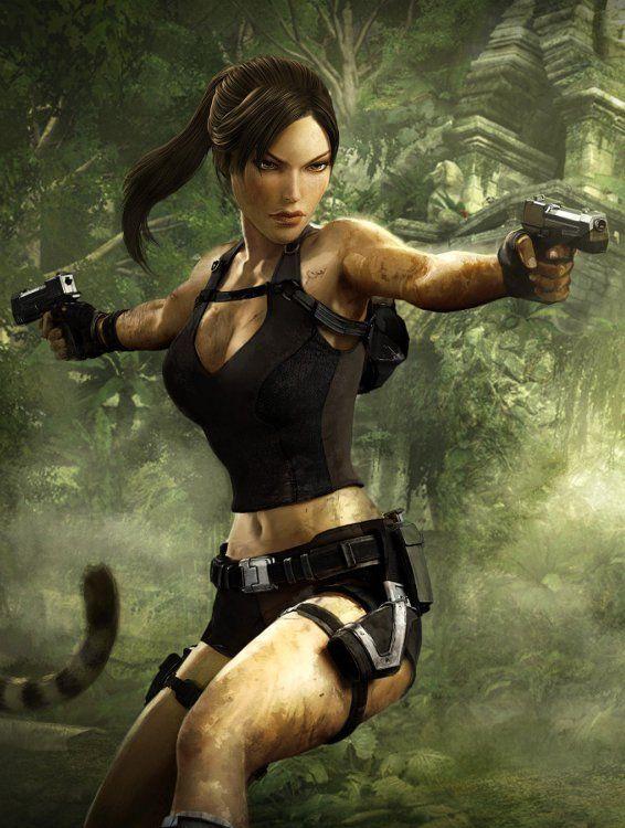 The Mind of Lara Croft