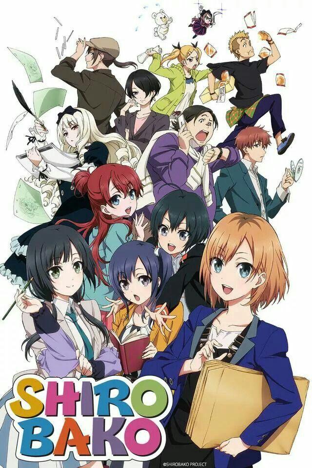 Shiro Bako Anime 2014 Anime Anime Anime Watch