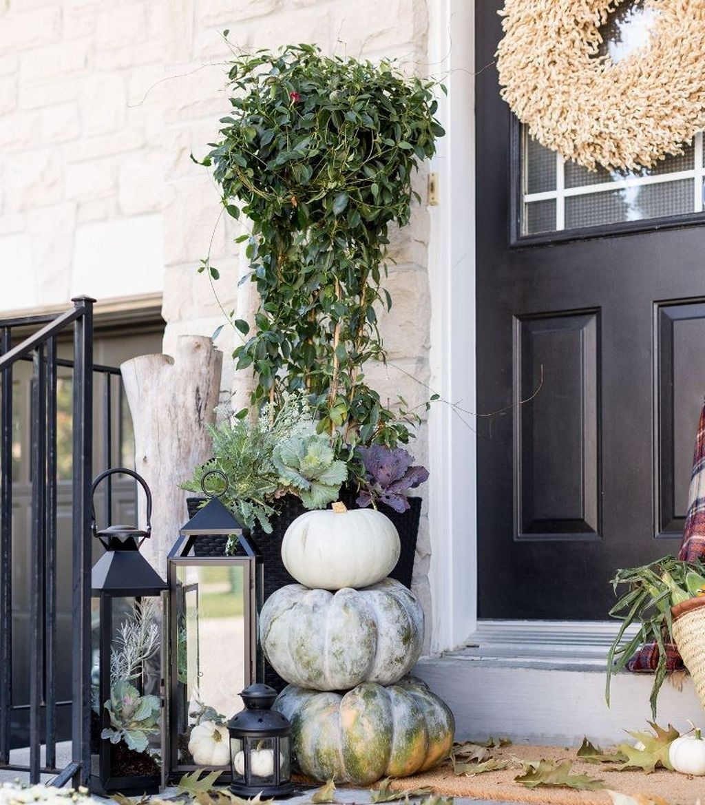 47 Die besten Möglichkeiten, Ihre Veranda für die Herbstideen zu dekorieren #herbstlicheaußendeko