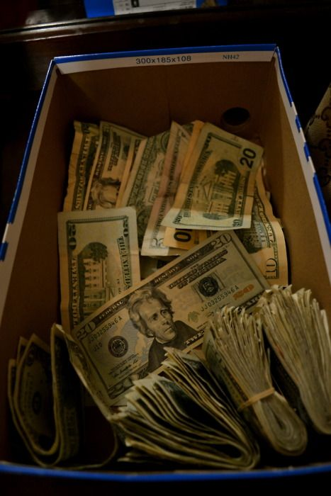Shoebox Full Of Money.Jordancurls In 2019 Money Stacks How To Get Money Money