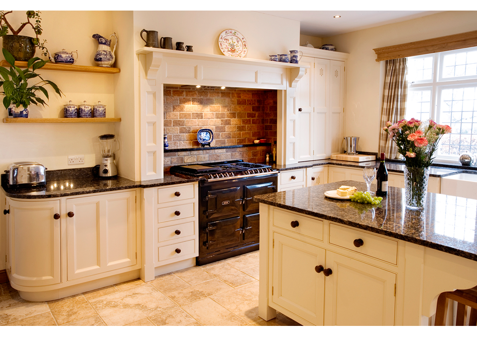 Great Classic Handmade English Kitchen Design In Kent