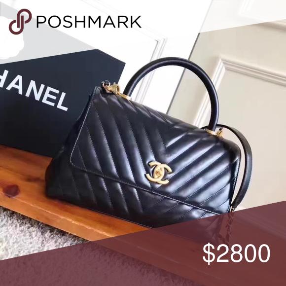 fd3b76dbbba Chanel coco handle bag black like NEW. CHANEL Bags Crossbody Bags ...