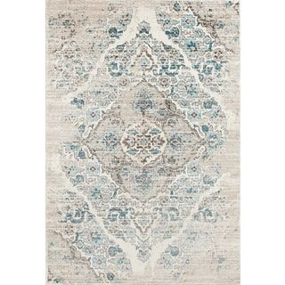 For Persian Rugs Blue Cream Area Rug 9 X 12 6 Get Free Shipping At Your Online Home Decor Outlet 5 In Rewards With Club