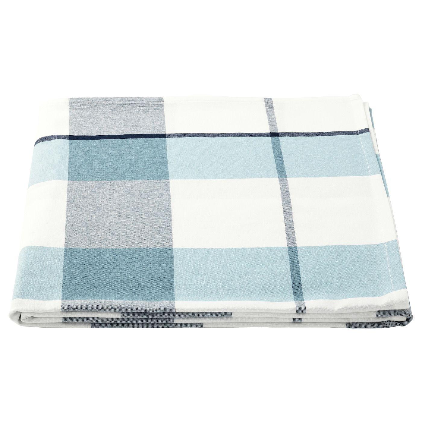 Rutig Tischdecke Karos Blau Ikea Deckchen Und Tisch