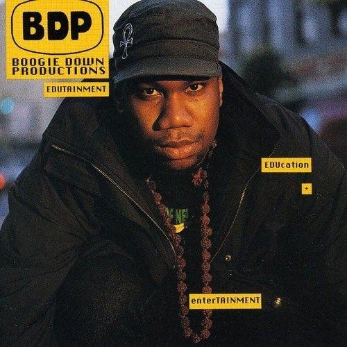 Edutainment Boogie down productions, Krs one, Hip hop albums