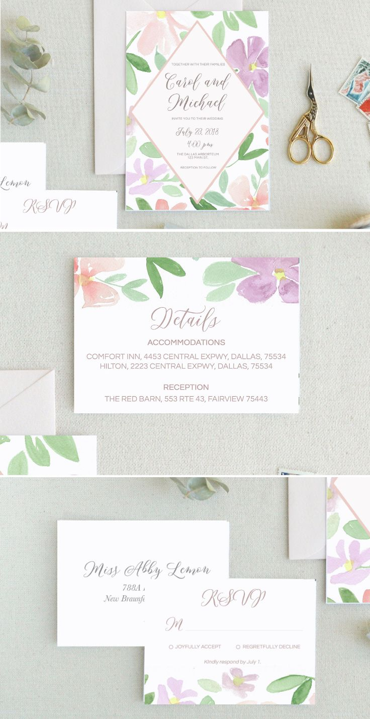You can never go wrong with a wedding - or invites - with a ...