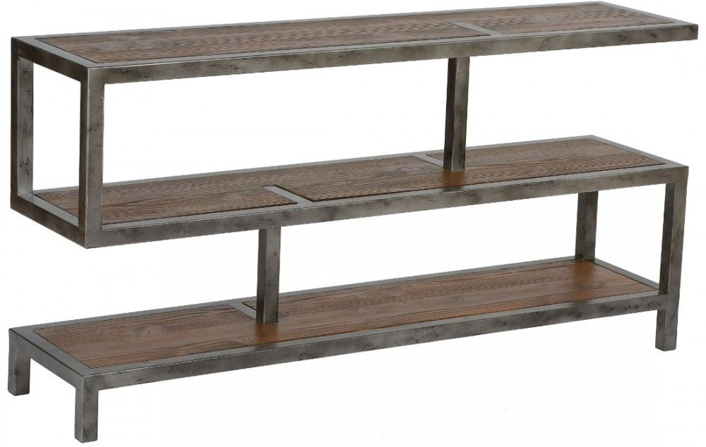 armen living maxton console table in natural in 2019 armen living rh pinterest com