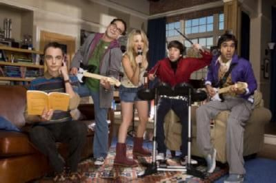 Big Bang Theory poster Metal Sign Wall Art 8in x 12in