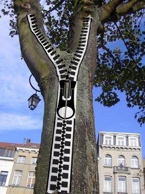 Zipper tree. AWESOME