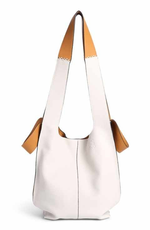 e2fbf391e Loewe Leather Hobo Tote Bag | Bags | Bags, Designer totes, Tote Bag