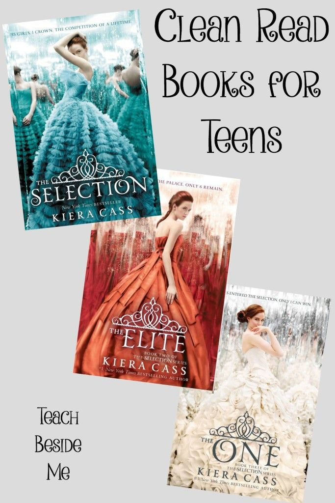 Clean Read Books for teens