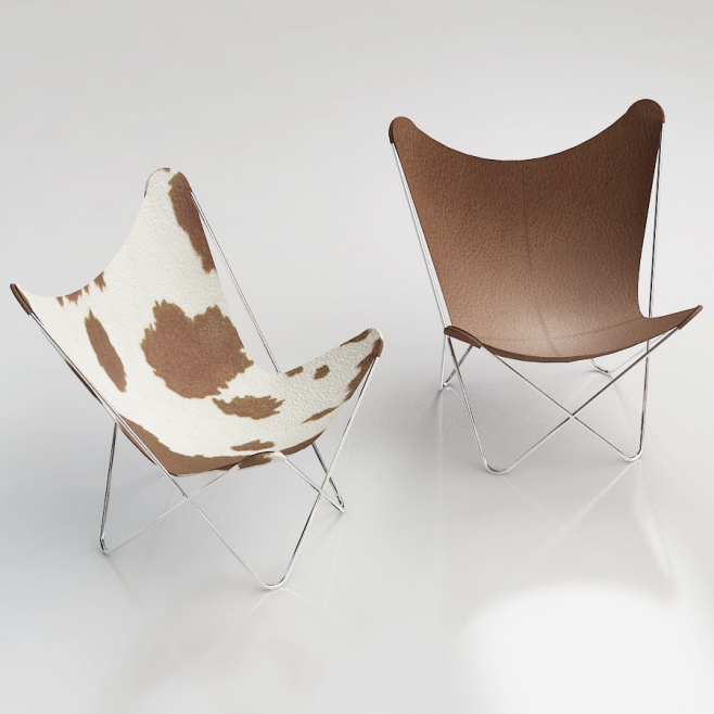 BKF Butterfly Chair | • revit family furniture downloads