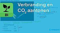 Verbranding en CO2 aantonen