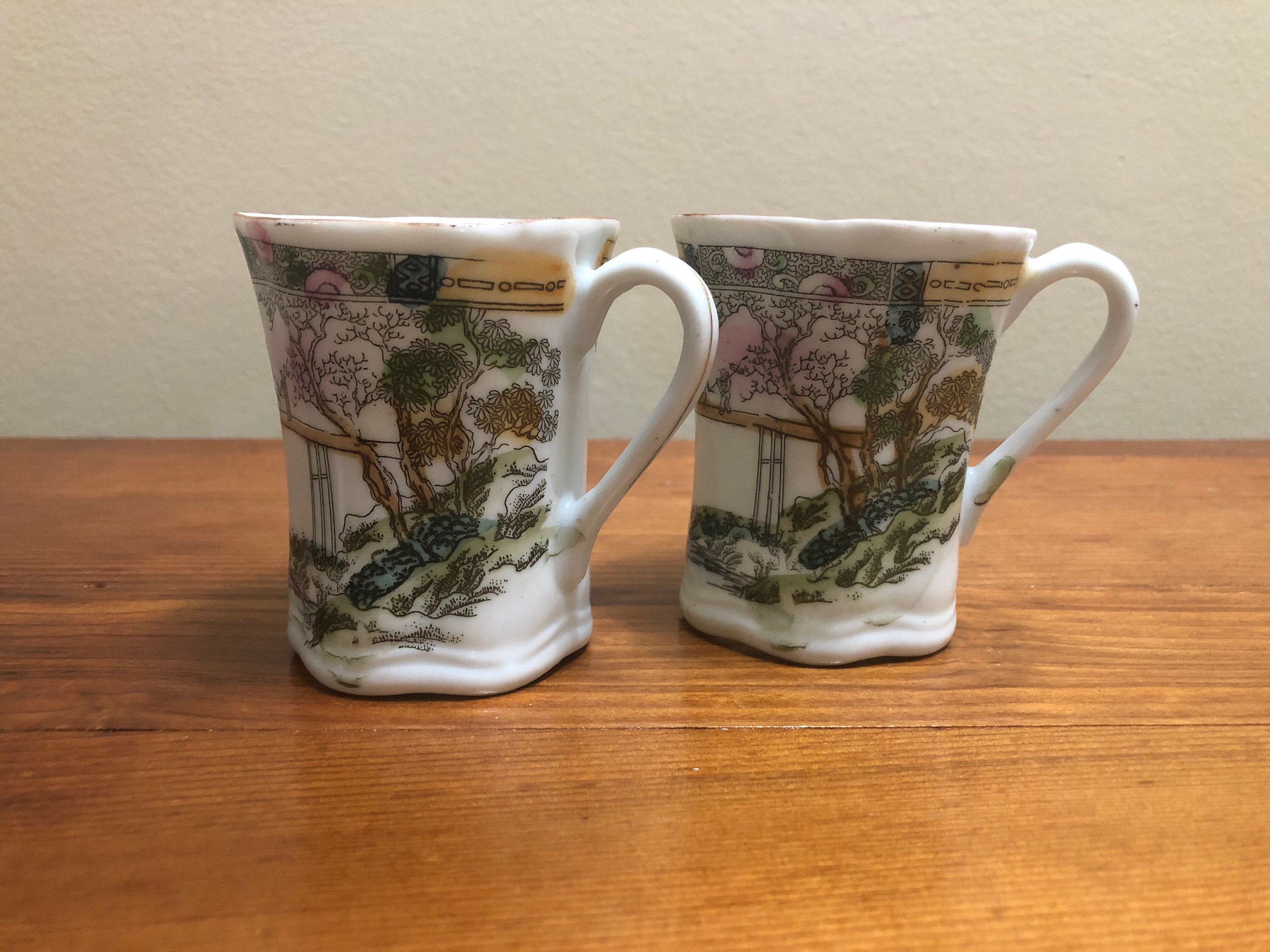 Anese Tea Cups Set Of 2 Asian