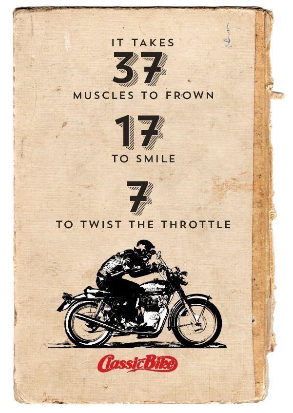 vintage motorcycles | Tumblr | Biker quotes, Motorbike ...