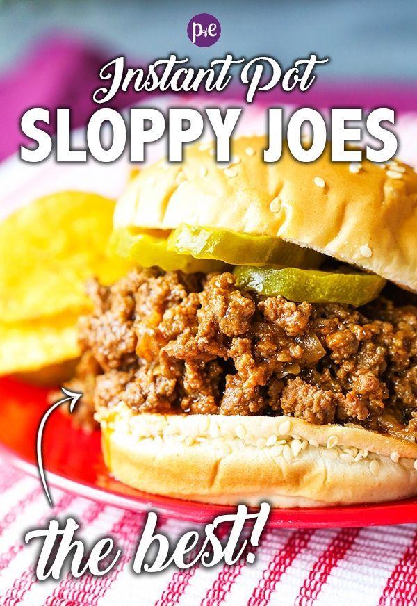 Instant Pot Sloppy Joes images