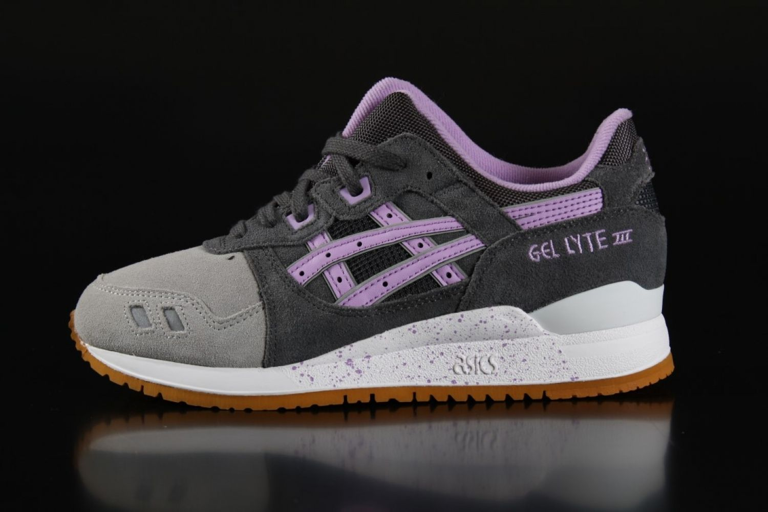 Asics - Asics Gel-Lyte III Wmns Sneaker Easter Collection Dark Grey Sheer  Lilac H572L