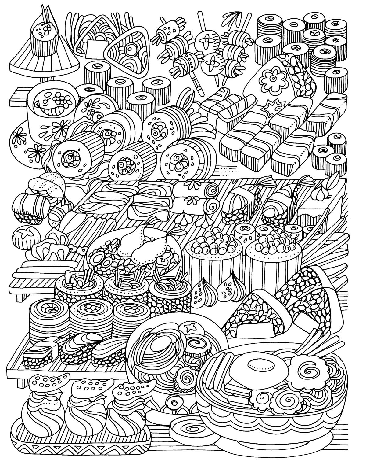 - Relaxing Colouring Books. Mandalas On Behance Coloring Pages