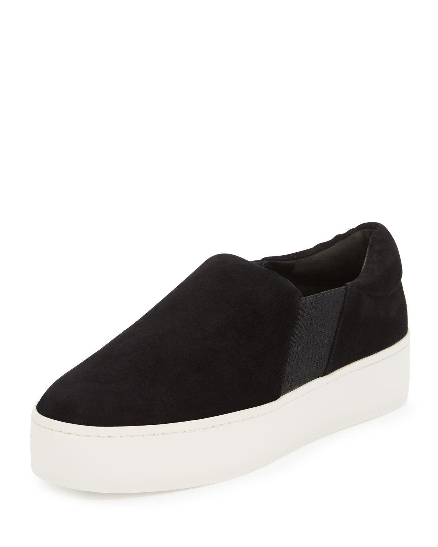 cb5a46a080e Warren Suede Platform Skate Sneaker