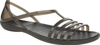 Crocs Black Isabella Womens Sandals Ladies if you liked the Huarache then youre going to love the Isabella Sandal from Crocs. This feminine man-made style arrives in black and features soft translucent TPU straps for a comfy and secure  http://www.comparestoreprices.co.uk/january-2017-8/crocs-black-isabella-womens-sandals.asp