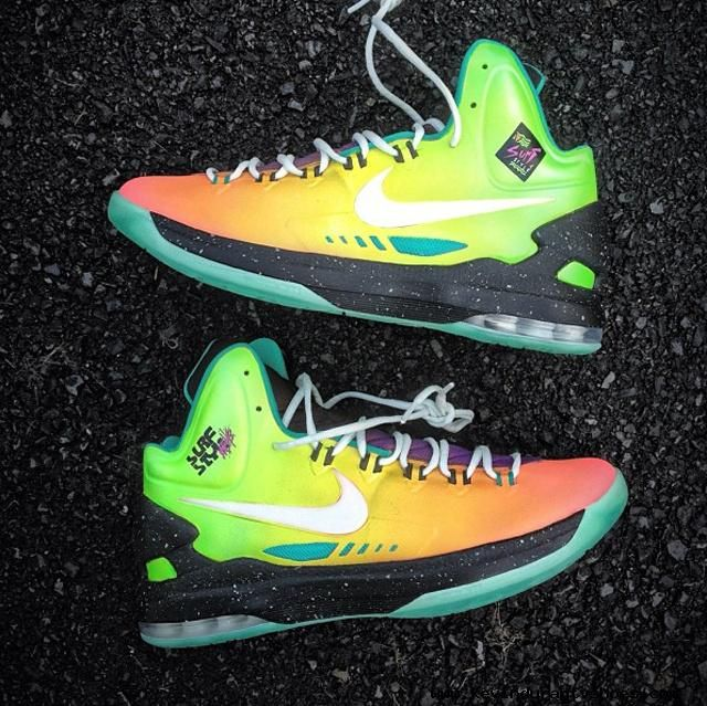 993a253f8398fe Nike KD V Surf Style Customs by Mache Kevin Durant shoes 2013 2013 ...