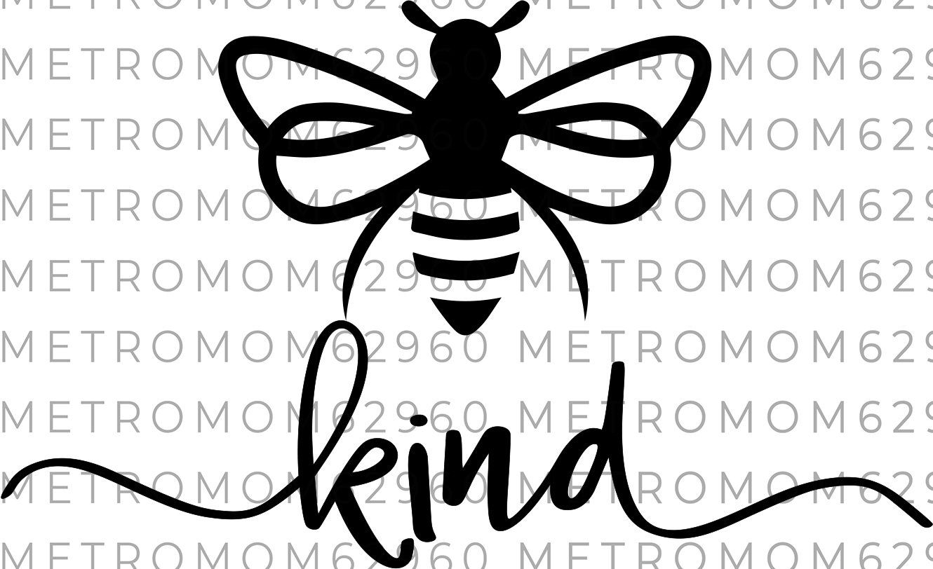 Bee Kind Svg File Realtor Svg File Instant Download Bee