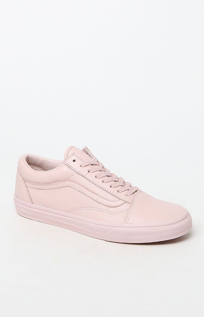 f9859fb8397c38 Premium Leather Old Skool Light Pink Shoes