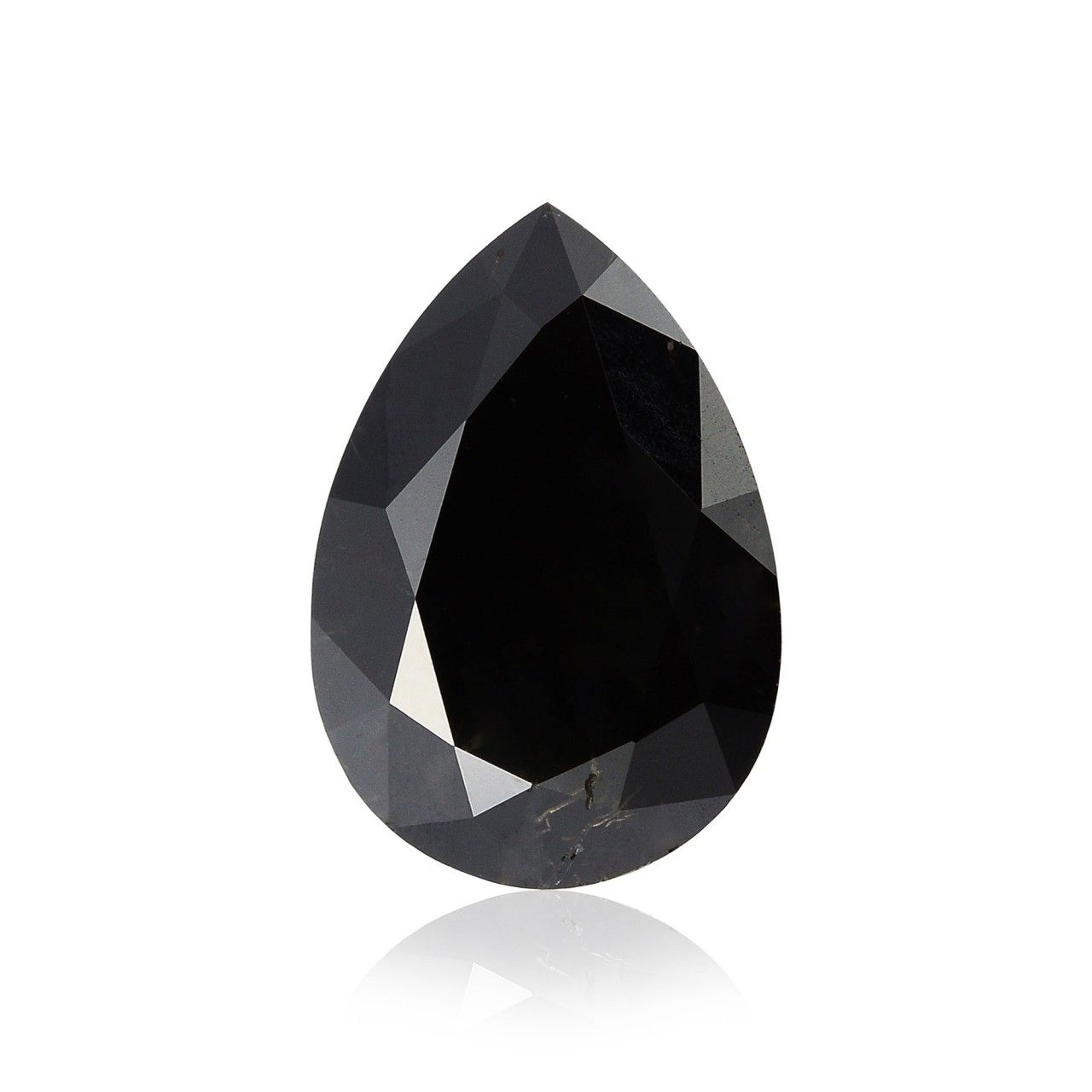 1 92 Carat Fancy Black Diamond Pear Shape Gia Sku 224788 Rose Gold Engagement Ring Black Diamond Pear Shaped