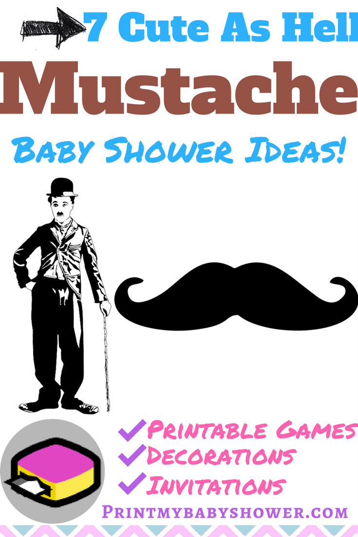 Mustache Themed Baby Shower Baby Shower Themes Ideas