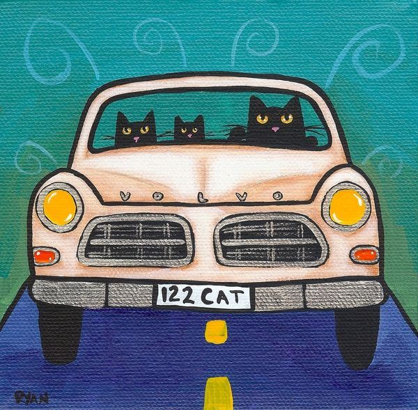 Volvo Cats - Ryan Conners